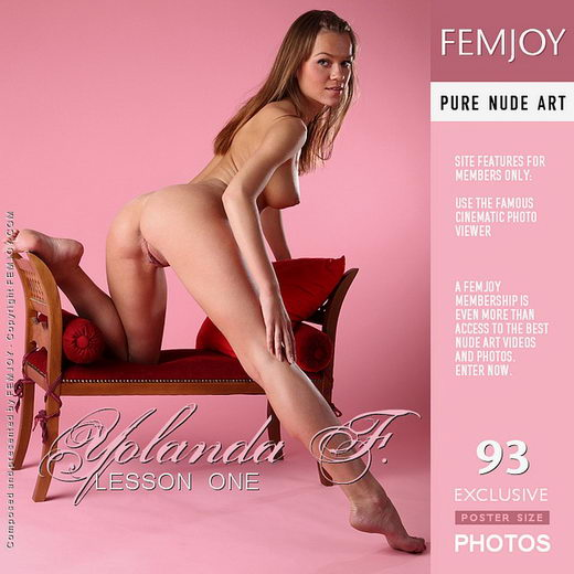 Yolanda F - `Lesson One` - by Platonoff for FEMJOY