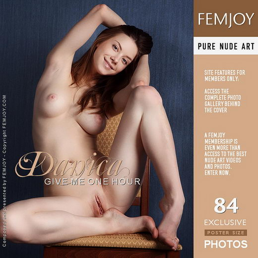 Danica in Give Me One Hour gallery from FEMJOY by Platonoff