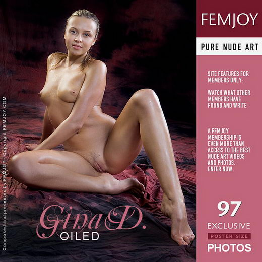 Gina D - `Oiled` - by Ilona for FEMJOY