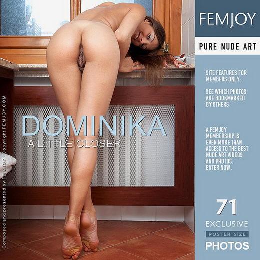 Dominika - `A Little Closer` - by Lorenzo Renzi for FEMJOY