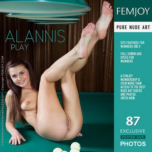 Alannis - `Play` - by Marian Silva for FEMJOY