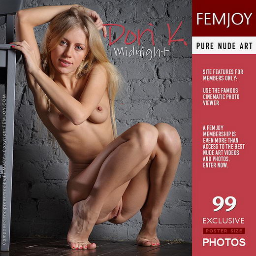 Dori K - `Midnight` - by Platonoff for FEMJOY