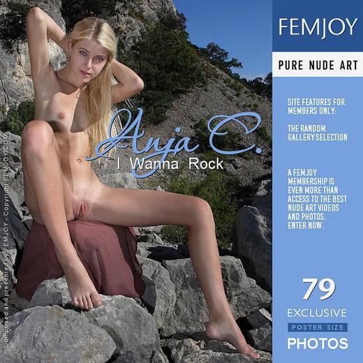 Anja C - `I Wanna Rock` - by Valery Anzilov for FEMJOY