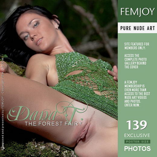 Dana T - `The Forest Fairy` - by Matthias Molle for FEMJOY