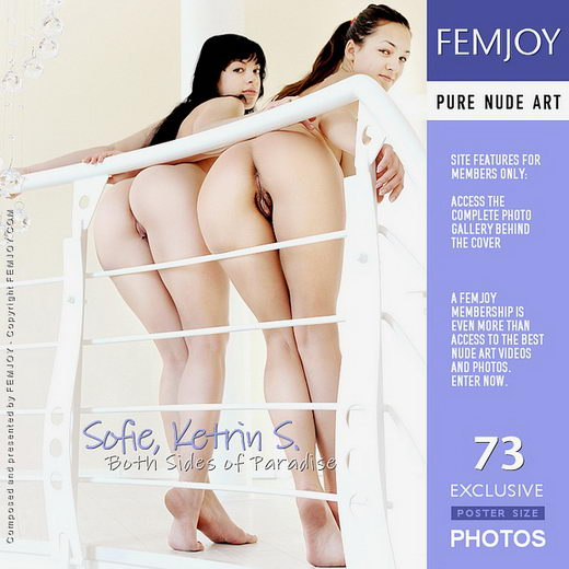 Sofie & Ketrin S - `Both Sides of Paradise` - by Sven Wildhan for FEMJOY