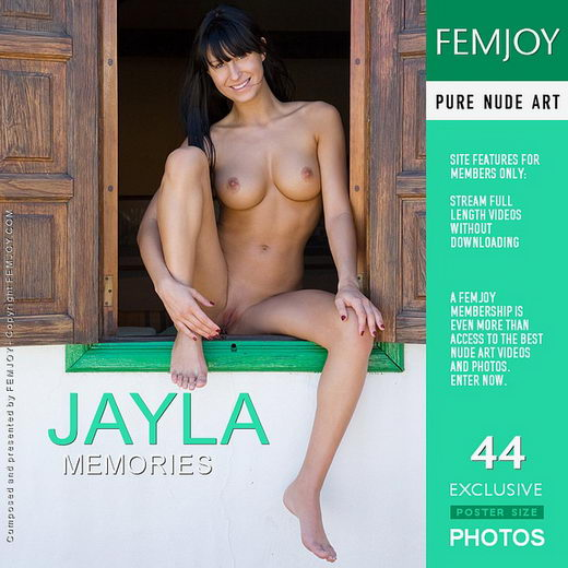 Jayla - `Memories` - by Stefan Soell for FEMJOY