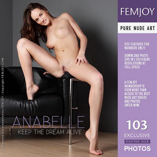 Anabelle - `Keep The Dream Alive` - by Platonoff for FEMJOY
