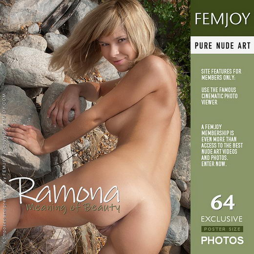 Ramona - `Meaning of Beauty` - by Alan Swann for FEMJOY