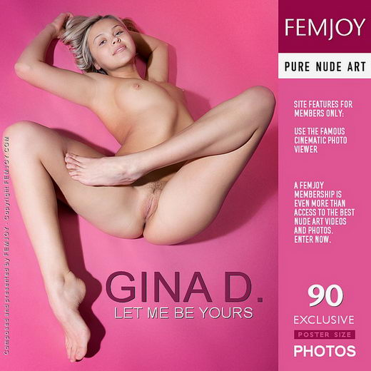 Gina D - `Let Me Be Yours` - by Ilona for FEMJOY