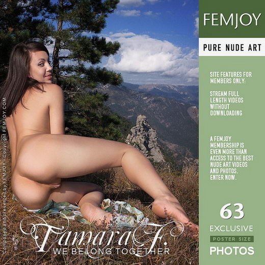 Tamara F - `We Belong Together` - by Valery Anzilov for FEMJOY