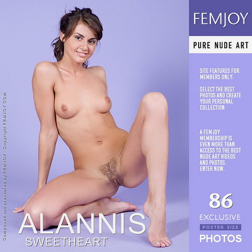 Alannis - `Sweetheart` - by Marian Silva for FEMJOY