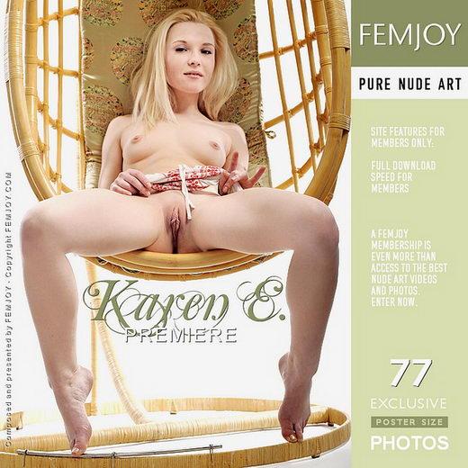 Karen E - `Premiere` - by Terri Benson for FEMJOY