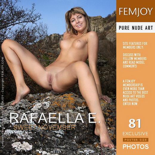 Rafaella E - `Sweet November` - by Valery Anzilov for FEMJOY