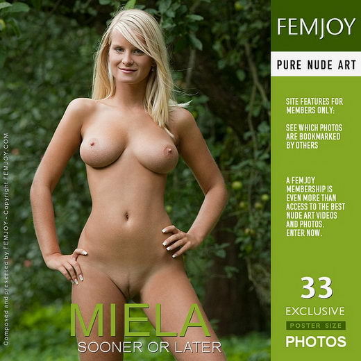 Miela - `Sooner Or Later` - by Stefan Soell for FEMJOY