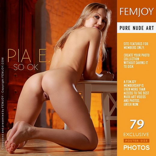 Pia E - `SO OK` - by Platonoff for FEMJOY