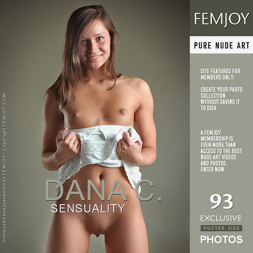 Dana C - `Sensuality` - by Valentino for FEMJOY