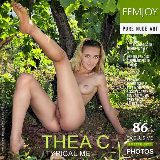 Thea C - `Typical Me` - by Valery Anzilov for FEMJOY