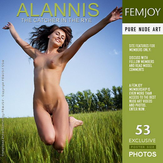 Alannis - `The Catcher in the Rye` - by Marian Silva for FEMJOY