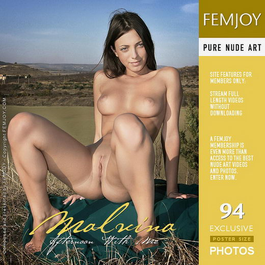 Malvina - `Afternoon With Me` - by Valery Anzilov for FEMJOY