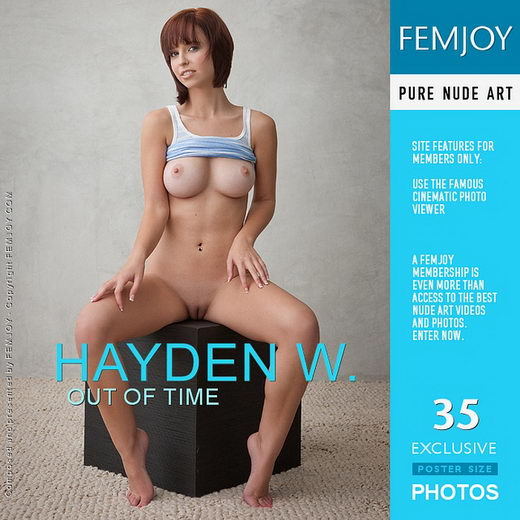 Hayden W - `Out Of Time` - by Stefan Soell for FEMJOY