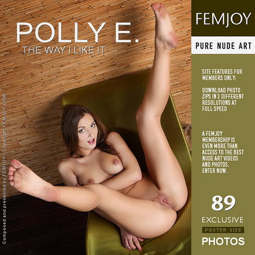 Polly E - `The Way I Like It` - by Platonoff for FEMJOY