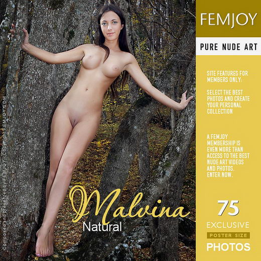 Malvina - `Natural` - by Valery Anzilov for FEMJOY