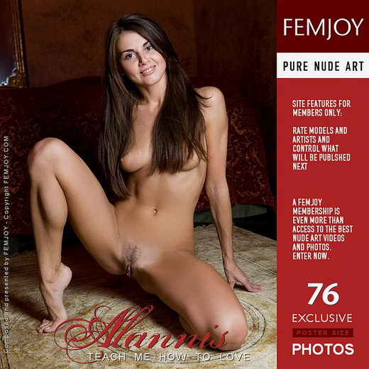 Alannis - `Teach Me How to Love` - by Marian Silva for FEMJOY
