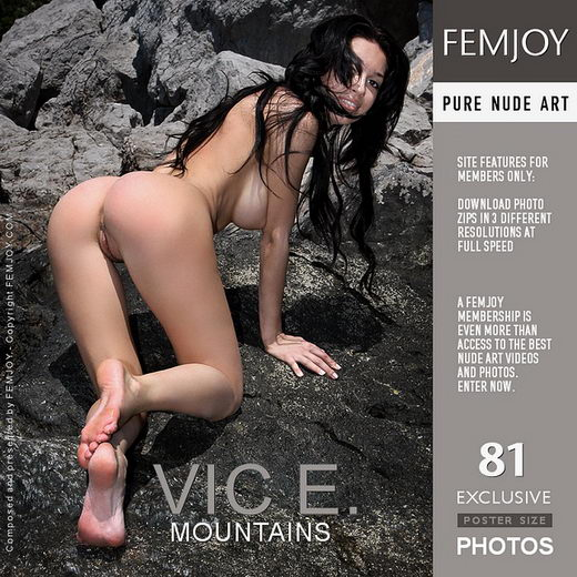 Vic E - `Mountains` - by Valery Anzilov for FEMJOY