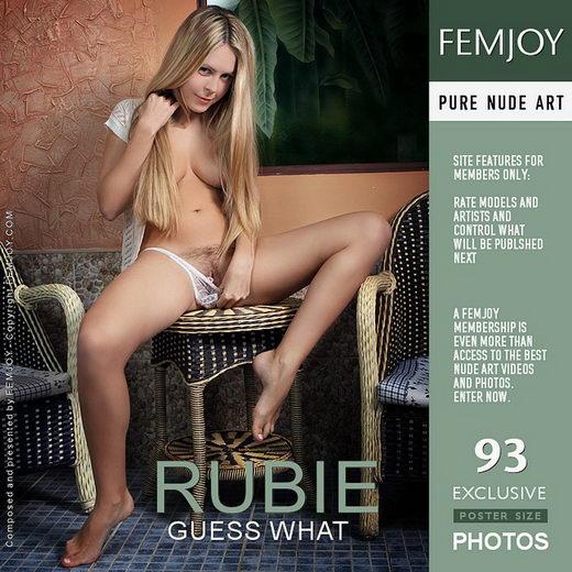 Rubie - `Guess What` - by Valery Anzilov for FEMJOY