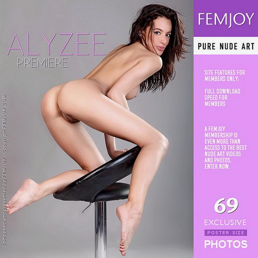Alyzee - `Premiere` - by Tom Rodgers for FEMJOY