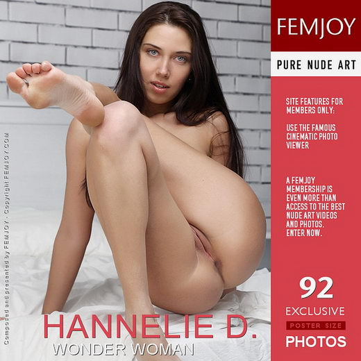Hannelie D - `Wonder Woman` - by Palmer for FEMJOY