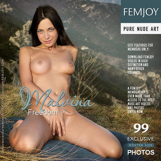 Malvina - `Freedom` - by Valery Anzilov for FEMJOY