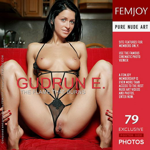 Gudrun E - `The Flame That Burns` - by Vaillo for FEMJOY