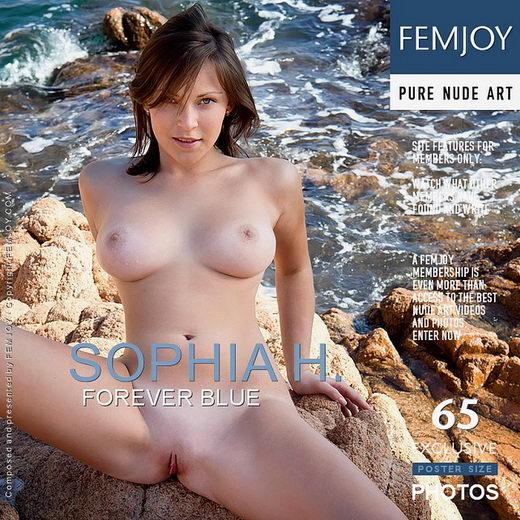 Sophia H - `Forever Blue` - by Tatyana Koen for FEMJOY