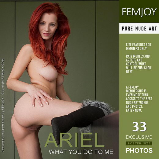 Ariel - `What You Do to Me` - by Stefan Soell for FEMJOY