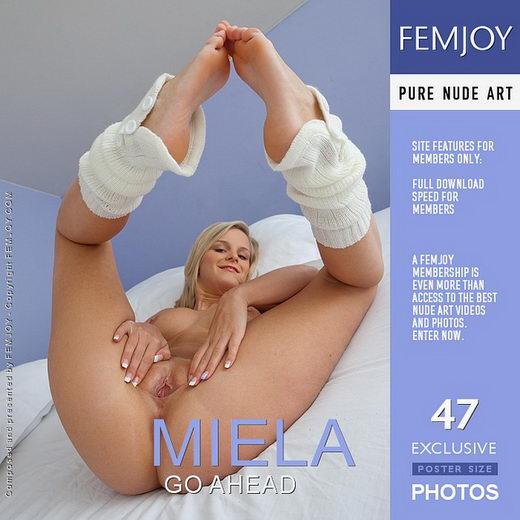 Miela - `Go Ahead` - by Stefan Soell for FEMJOY