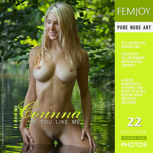 Corinna - `If You Like Me` - by Stefan Soell for FEMJOY