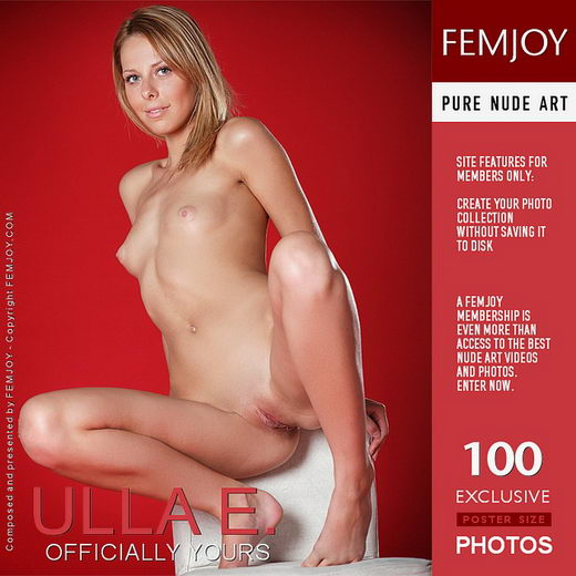 Ulla E - `Officially Yours` - by Valentino for FEMJOY