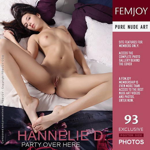 Hannelie D - `Party Over Here` - by Palmer for FEMJOY