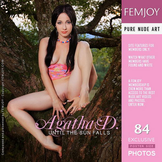 Agatha D - `Until the Sun Falls` - by Vaillo for FEMJOY