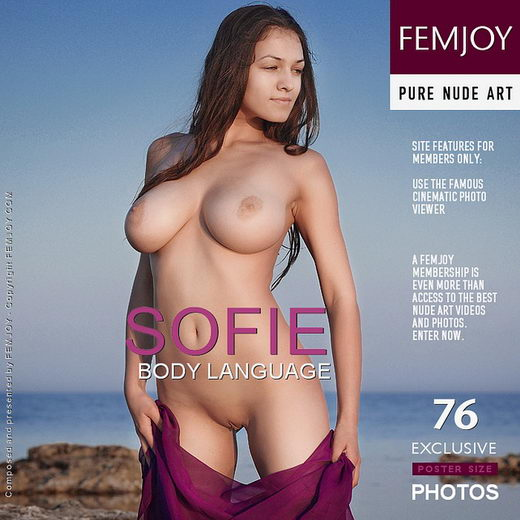 Sofie - `Body Language` - by Sven Wildhan for FEMJOY
