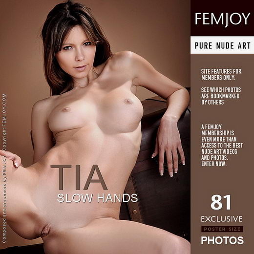Tia - `Slow Hands` - by Tom Rodgers for FEMJOY