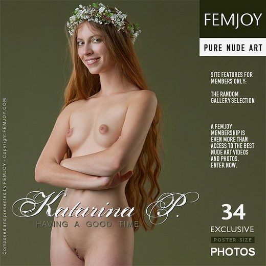 Katarina P - `Having A Good Time` - by Stefan Soell for FEMJOY