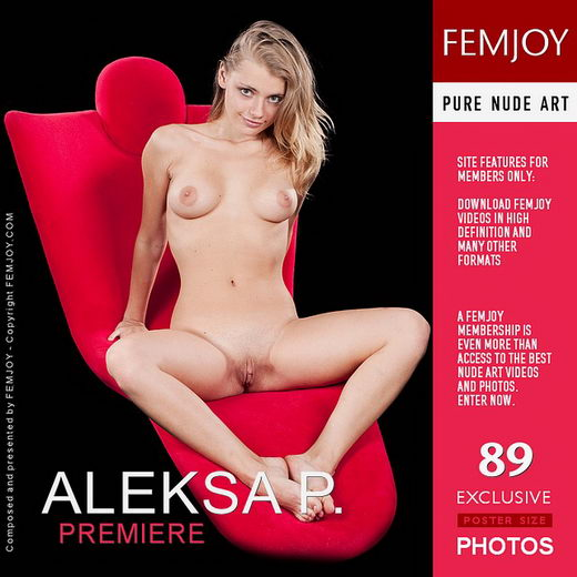 Aleksa P - `Premiere` - by Domingo for FEMJOY