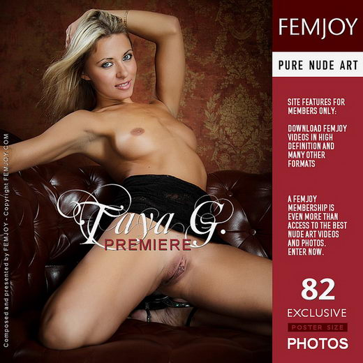 Taya G - `Premiere` - by Vaillo for FEMJOY