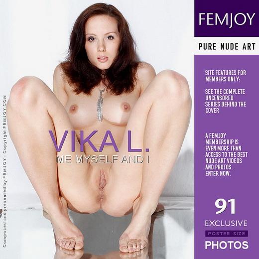 Vika L - `Me Myself And I` - by Slastyonoff for FEMJOY