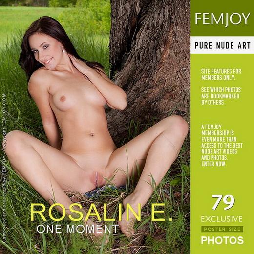 Rosalin E - `One Moment` - by Domingo for FEMJOY