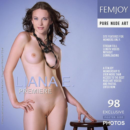 Liana E - `Premiere` - by Domingo for FEMJOY