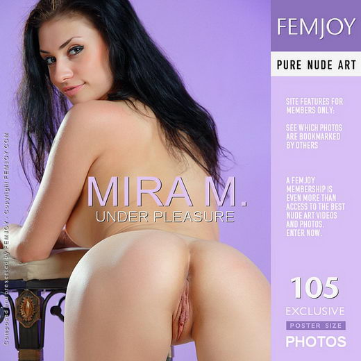 Mira M - `Under Pleasure` - by Platonoff for FEMJOY