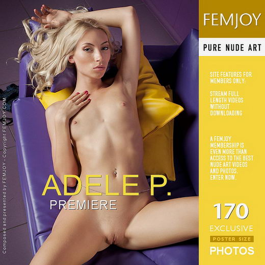 Adele P - `Premiere` - by Kiselev for FEMJOY